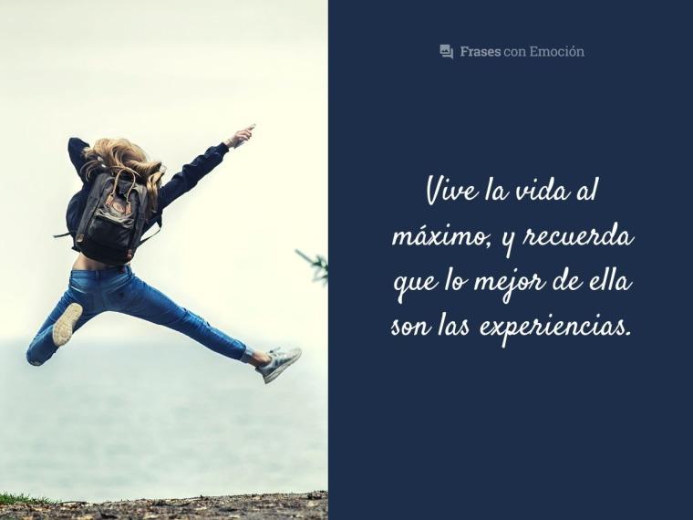 Vive la vida...